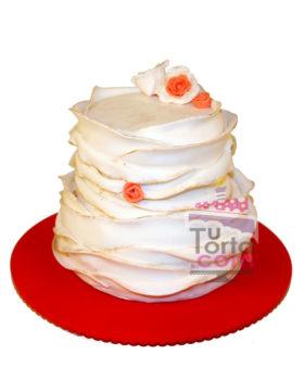 Torta Vintage o para Matrimonio