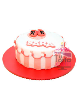 Torta para Baby Shower Rosa