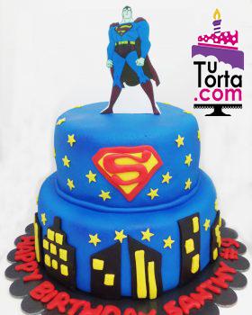 torta superman bogot tortas tem ticas decoradas para cumplea os a domicilio. Black Bedroom Furniture Sets. Home Design Ideas