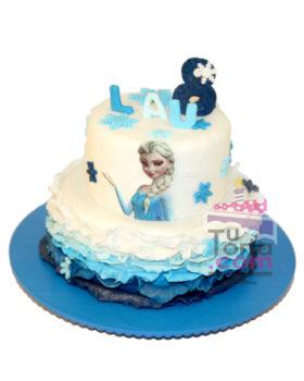 Torta Frozen Princesa