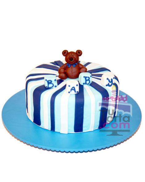 Torta para Baby Shower Osito
