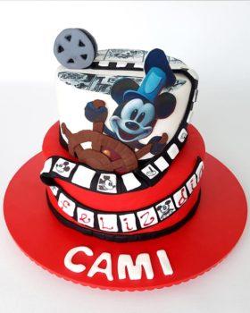 Torta de Mickey Mouse Pelicula