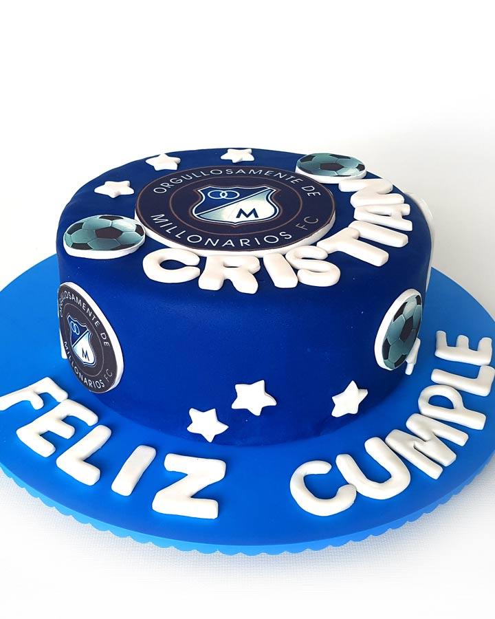 Torta De Millonarios Futbol Club