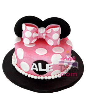 torta-de-minnie-mouse-rosada