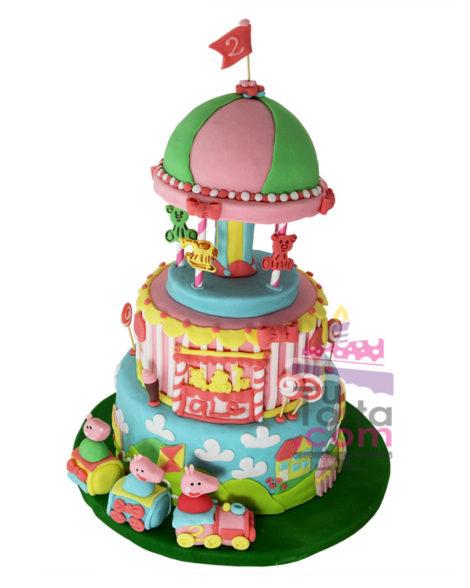 torta-de-pepa-pig-base-giratoria