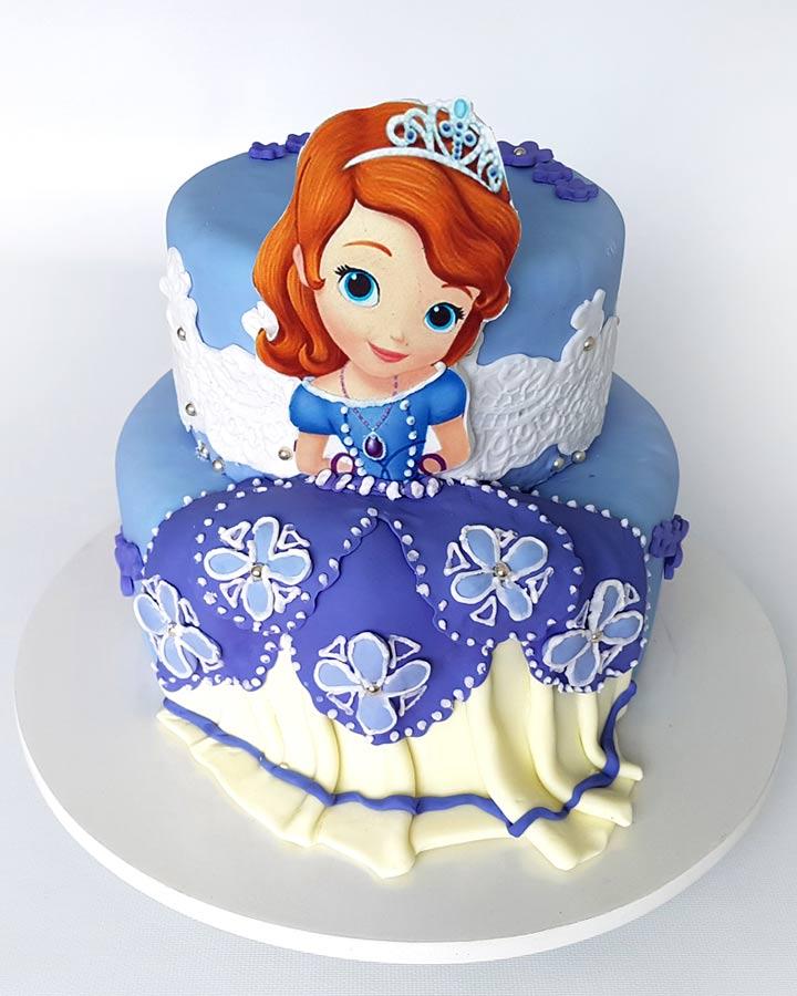 Torta Princesa Sofia Rostro Tutorta Com Bogot 225